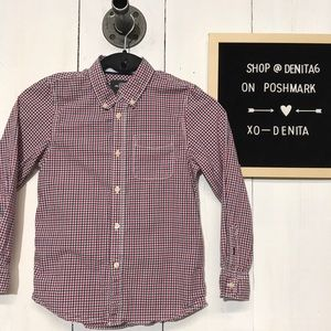 ✨5/$25 H & M Long Sleeve Button Down Shirt 7-8